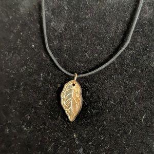 Jewelry - Golden Leaf Charm Bracelet